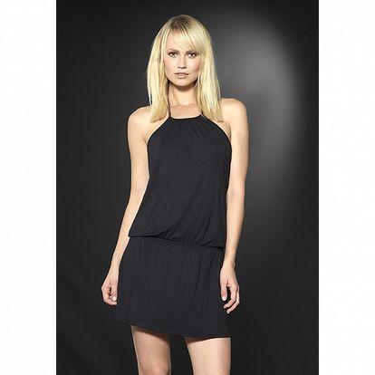 Dámské černé domácí šaty After Eden