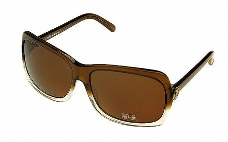 Dámské hnědo-bílé sluneční brýle Axcent