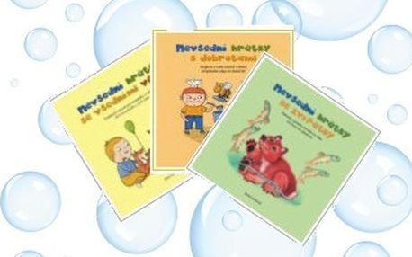 Nevšední hrátky pro Vaše děti - populární edice 3 knih