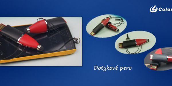 USB 4 GB + dotykové pero
