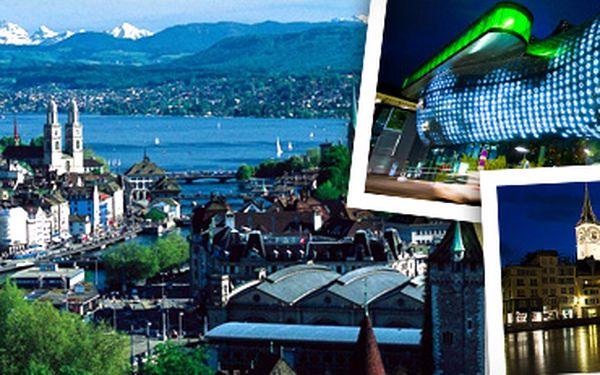Švýcarský Curych: 1denní výlet pro 1 osobu (3. 8. 2013)