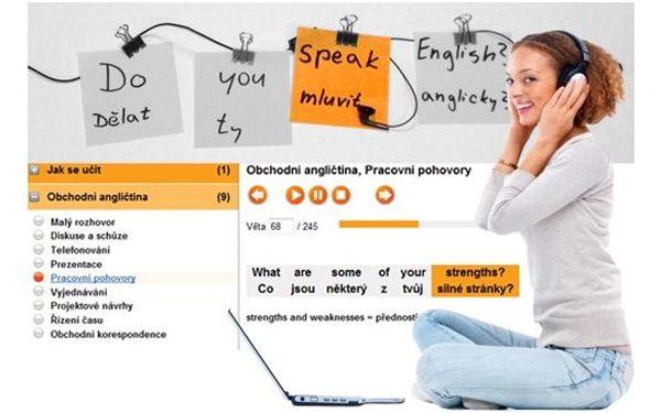 Roční online kurz Angličtina bez biflování, 666 Kč