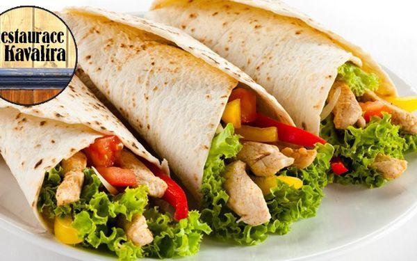 Mexické menu pro 2 osoby v Restauraci U Kavalíra
