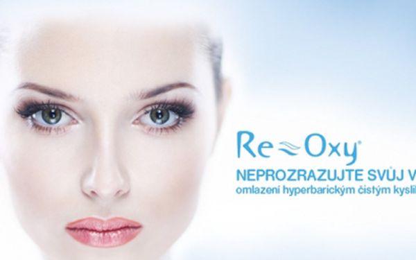 VÝPLŇ VRÁSEK a LIFTING OBLIČEJE hyperbarickým čistým kyslíkem za pouhých 390 Kč! Patentovaný originální přístroj RE-OXY® a séra RE-AGE® zajistí účinný, trvalý a zdravý omlazující proces! Sleva až 87%!