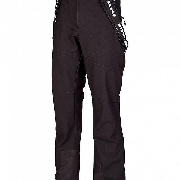 Pánské černé zimní softshellové kalhoty Envy