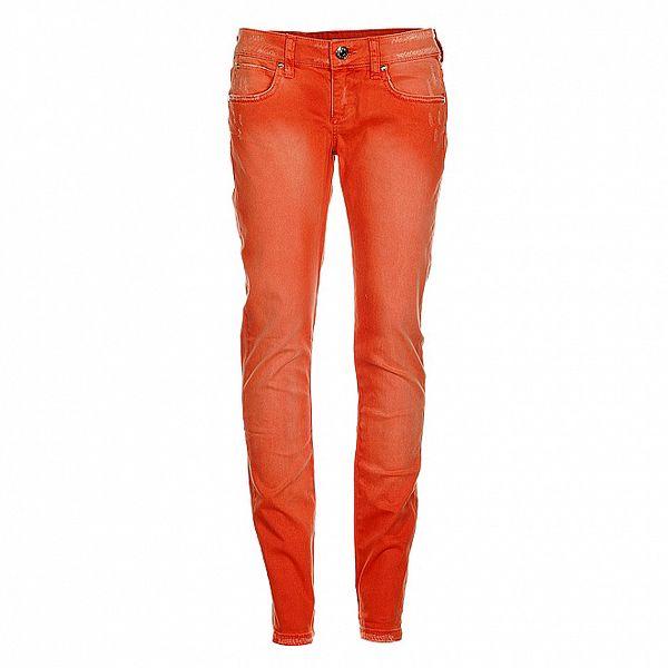 Dámské korálově růžové džíny Phard