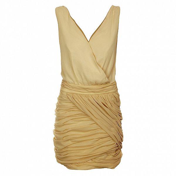 Dámské světle béžové šaty Lucy Paris