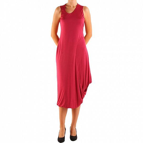 Dámské červené šaty Calvin Klein