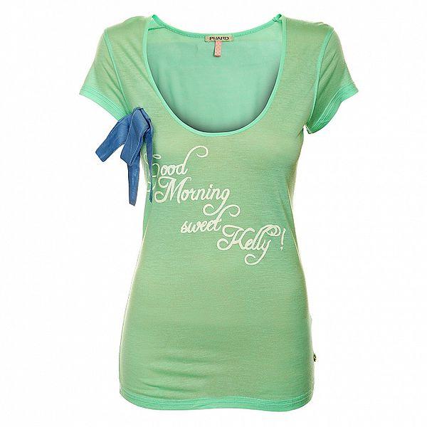 Dámské mátově zelené tričko Phard s krátkým rukávem