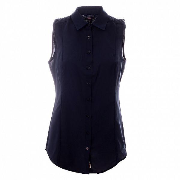 Dámska temno modrá košeľa bez rukávov Lee Cooper