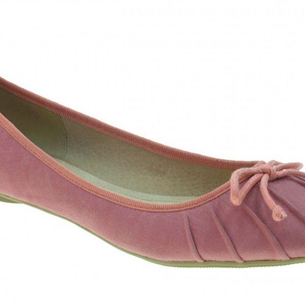 Dámské růžové baleríny Beppi