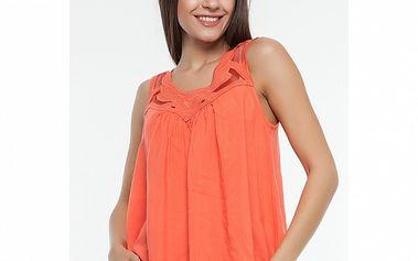 Dámska oranžová blúza Renata Biassi
