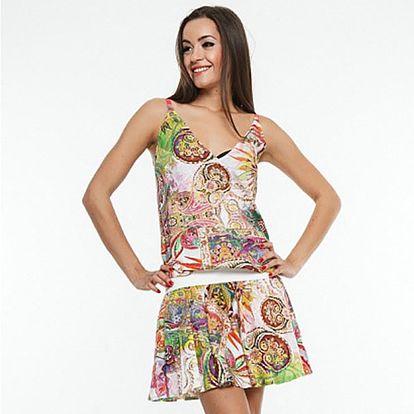 Dámské pestré letní šaty Renata Biassi