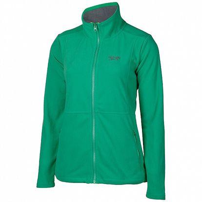 Dámská mátově zelená sportovní fleecová mikina Chiemsee