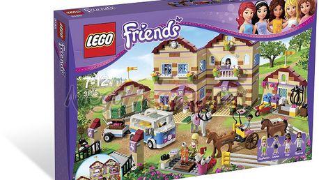 Lego Friends 3185 - Prázdninový jezdecký tábor - LEGO Friends