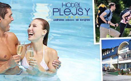 Rodinná dovolenka v Plejsy*** Wellness & Fun Resort