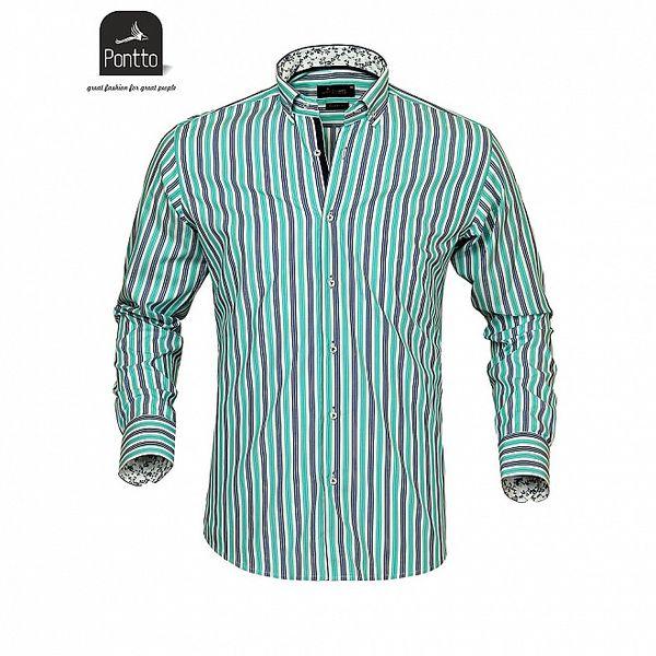Pánska košeľa z dielne Pontto