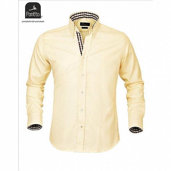 Luxusná mestská košeľa Pontto