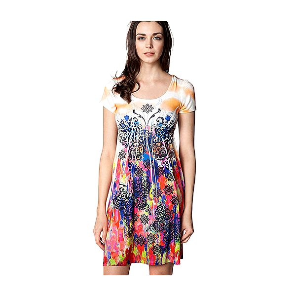 Šaty s krátkými rukávy Dream of Orient