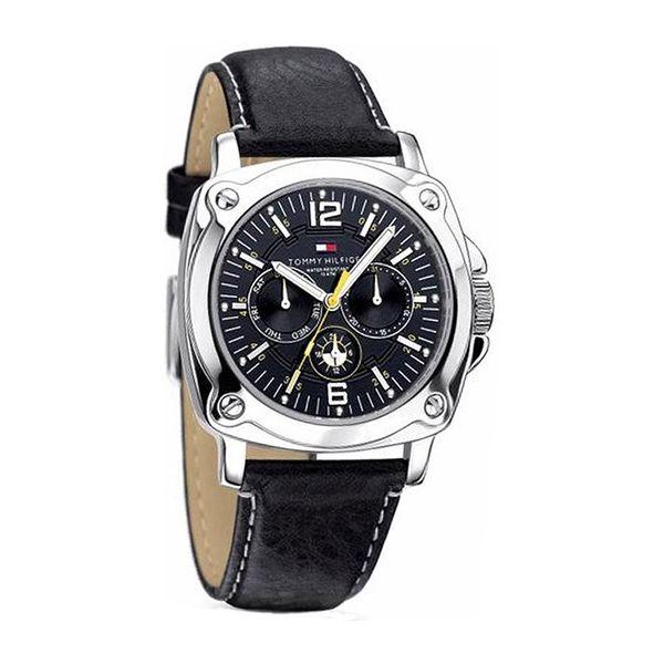 Pánské hodinky Tommy Hilfiger stříbrno-černé