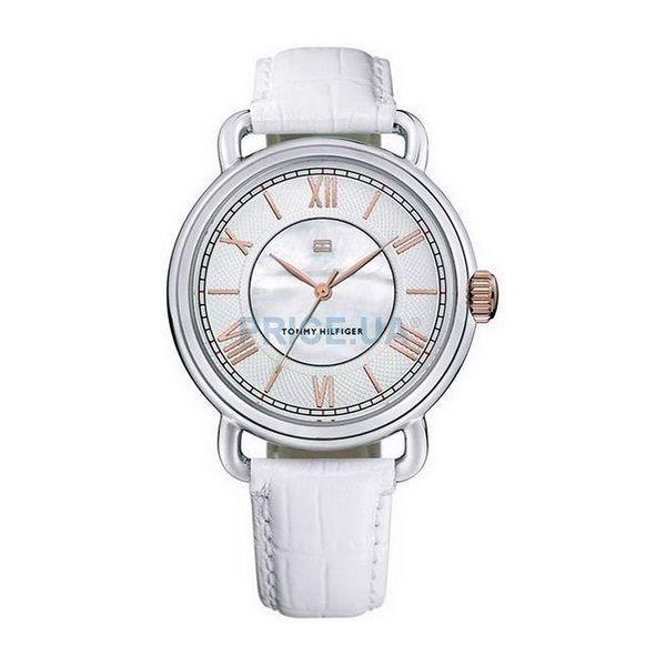 Dámské hodinky Tommy Hilfiger stříbrné kulatý ciferník