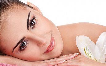 Kompletné čistenie pleti, masáž a úprava obočia