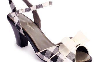 Dámské sandály Lola Ramona Elsie černo-bílé