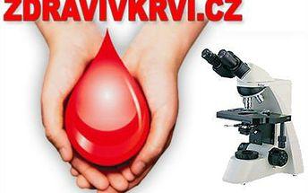 Vyšetření živé kapky krve pro přehled o vašem zdraví!