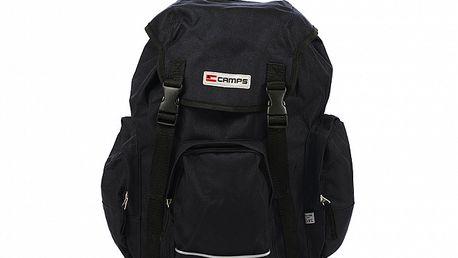 Černý batoh s přezkami Artvi