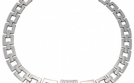 Dámsky oceľový náhrdelník Tribal Piercing