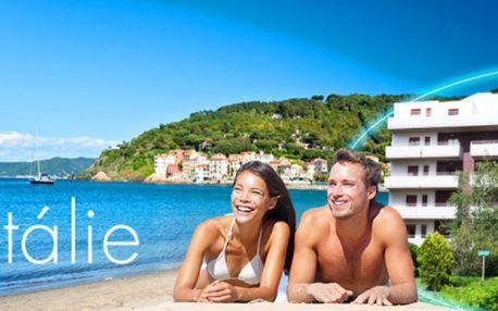 Na 8 DNÍ do slunné ITÁLIE za bezkonkurenční cenu již od 1670 Kč! V ceně UBYTOVÁNÍ v APARTMÁNOVÉM DOMĚ 150 m od písčité pláže a pojištění CK! Odpočiňte si od starostí všedních dní a dopřejte si relax u moře se slevou 42%!