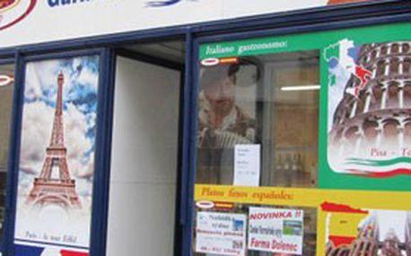 Exkluzivní chuťová nabídka od Gurmán – Labužníkův ráj! Poukazy v hodnotě 200 Kč na nákup výtečných sýrů z Francie, Itálie a Švýcarska...
