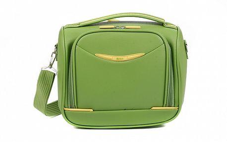 Dámska zelená kozmetická taška Artvi