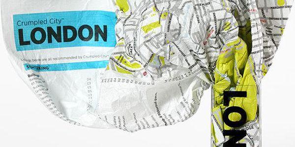 Mapa Londýn