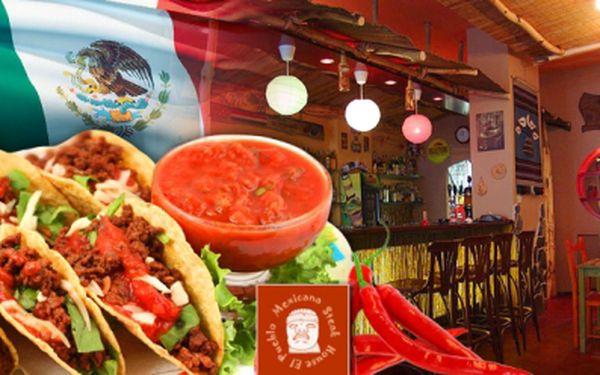 MEXICKÉ DEGUSTAČNÍ MENU pro 2 OSOBY za vynikajících 270 Kč! Mísa o průměru 65 cm plná MEXICKÝCH SPECIALIT! Například kukuřičné tacos, burrito, fajitas a tortilla chips přelité cheddarem! Oblíbená akce je opět tady! Sleva 56%!