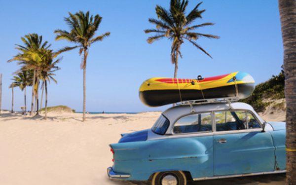 Poznávejte Kubu za 9900 Kč! 8 dní dle výběru včetně pronájmu auta! Nyní záloha 4900 Kč!