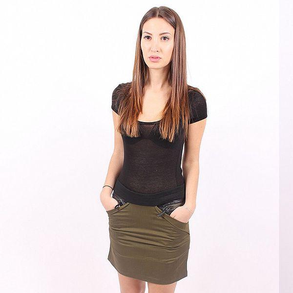 Dámská zelená sukně Enelle