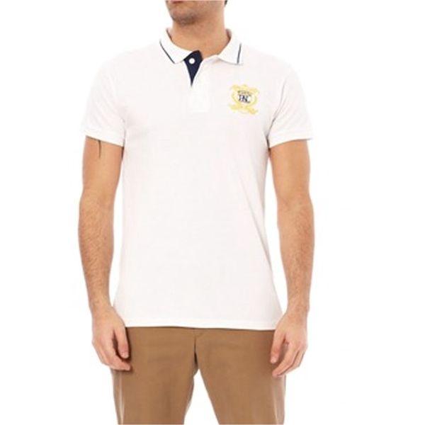 Pánské triko polo Hopenlife PETRU bílé