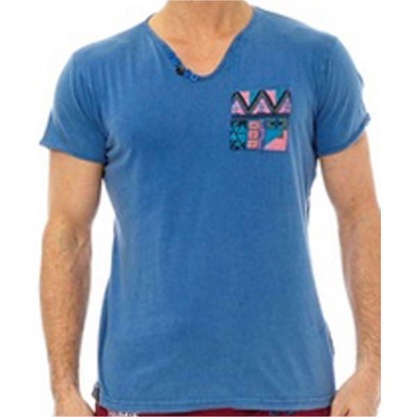 Pánské triko Hopenlife WUSHU modré