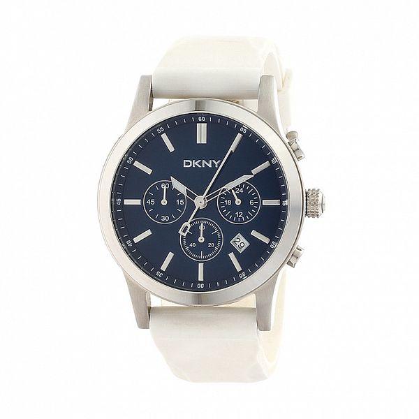 Pánské bílé hodinky DKNY