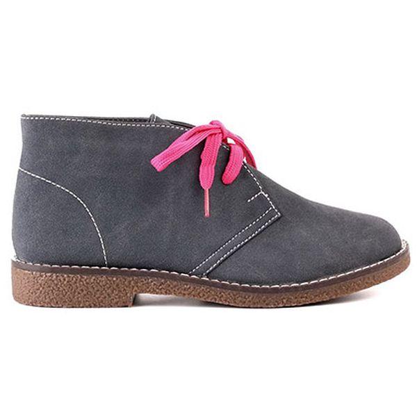 Kotníčková obuv Flyfor šedá