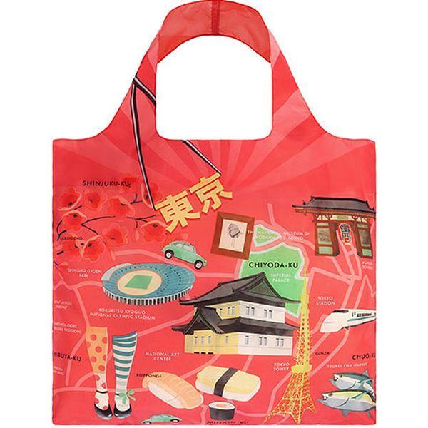 Červená taška Japan
