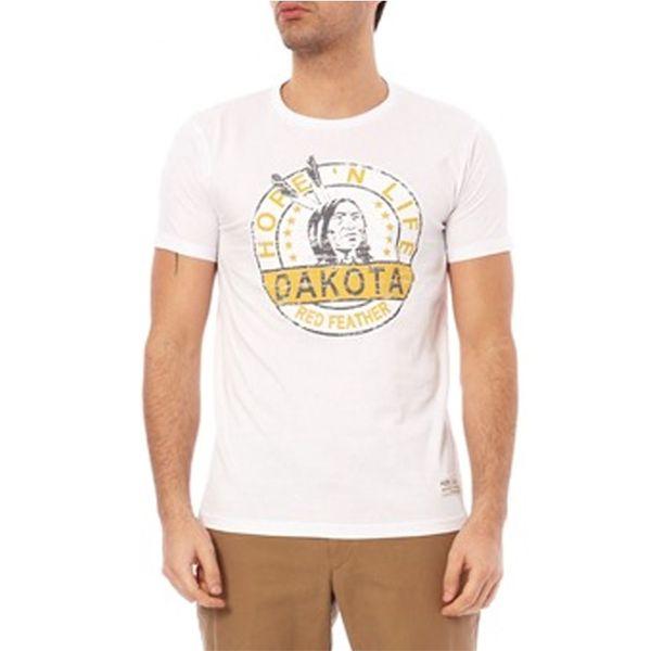 Pánské triko Hopenlife WILFORD bílé