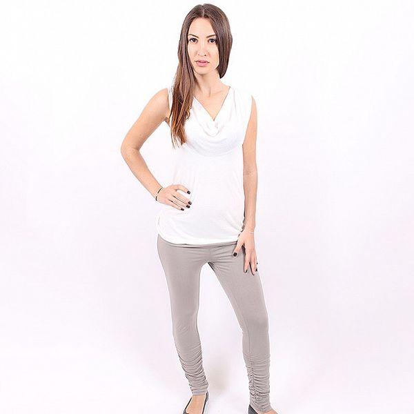 Dámské šedivé skinny kalhoty Enelle