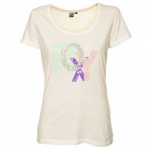 Dámske biele tričko s potlačou Roxy