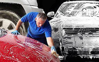 Ručné umytie vášho automobilu