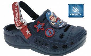 Dětské tmavě modré pantofle Beppi s vůní