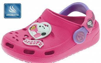 Detské ružové papuče Beppi s vôňou