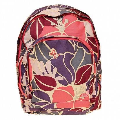 Dámsky batoh s kvetovaným vzorom Roxy
