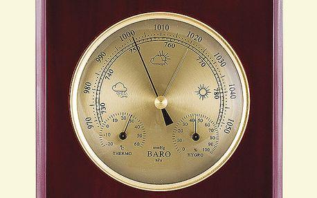 Barometr s hydrometrem a teploměrem